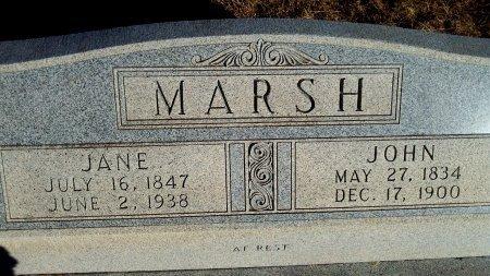 MARSH, MAHALA JANE - Parker County, Texas | MAHALA JANE MARSH - Texas Gravestone Photos