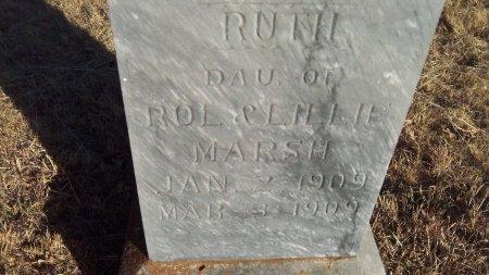 MARSH, RUTH - Parker County, Texas | RUTH MARSH - Texas Gravestone Photos