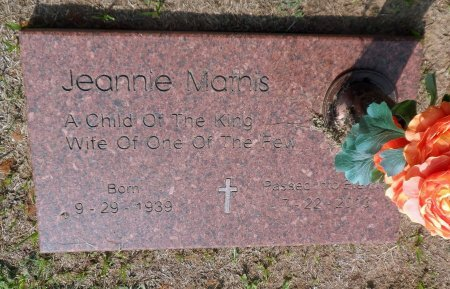 MATHIS, JEANNIE - Parker County, Texas | JEANNIE MATHIS - Texas Gravestone Photos