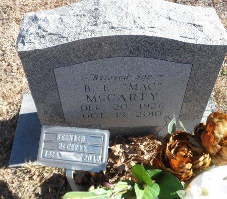 MCCARTY, BERNICE EUGENE - Parker County, Texas | BERNICE EUGENE MCCARTY - Texas Gravestone Photos