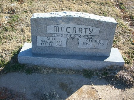 MCCARTY, CLAUDE RAYMOND - Parker County, Texas | CLAUDE RAYMOND MCCARTY - Texas Gravestone Photos