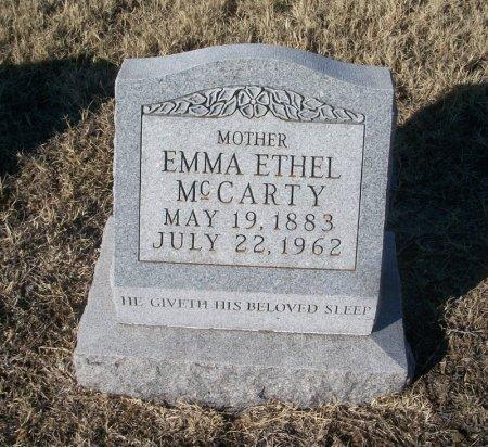 MCCARTY, EMMA ETHEL - Parker County, Texas | EMMA ETHEL MCCARTY - Texas Gravestone Photos
