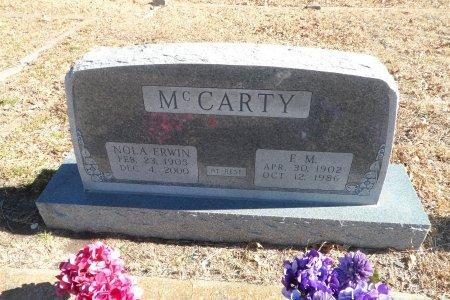 MCCARTY, NOLA - Parker County, Texas   NOLA MCCARTY - Texas Gravestone Photos