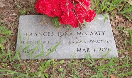 MCCARTY, FRANCES IONA - Parker County, Texas | FRANCES IONA MCCARTY - Texas Gravestone Photos