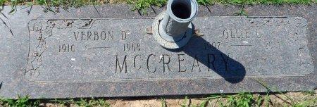 MCCREARY, VERBON DELARA - Parker County, Texas | VERBON DELARA MCCREARY - Texas Gravestone Photos