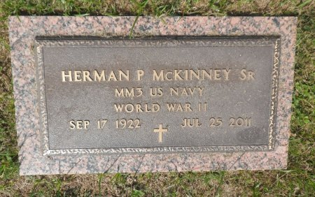 MCKINNEY, SR (VETERAN WWII), HERMAN P. - Parker County, Texas | HERMAN P. MCKINNEY, SR (VETERAN WWII) - Texas Gravestone Photos