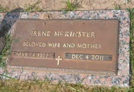 SMITH MCKINSTER, IRENE - Parker County, Texas | IRENE SMITH MCKINSTER - Texas Gravestone Photos