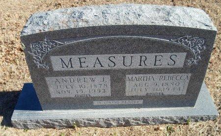 WALKER MEASURES, MARTHA REBECCA - Parker County, Texas | MARTHA REBECCA WALKER MEASURES - Texas Gravestone Photos