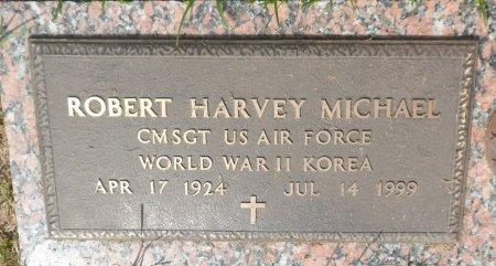 MICHAEL (VETERAN 2WARS), ROBERT HARVEY - Parker County, Texas | ROBERT HARVEY MICHAEL (VETERAN 2WARS) - Texas Gravestone Photos