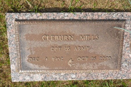 "MILLS (VETERAN), CLEBURN ""CLAY"" - Parker County, Texas 