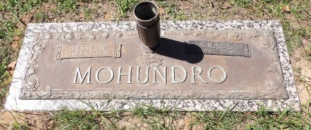 MOHUNDRO, JESSE WILLIAM - Parker County, Texas | JESSE WILLIAM MOHUNDRO - Texas Gravestone Photos