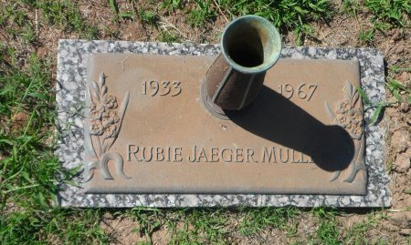 JAEGER MOORE, RUBIE FRANCES - Parker County, Texas | RUBIE FRANCES JAEGER MOORE - Texas Gravestone Photos