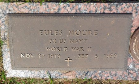 MOORE (VETERAN WWII), EULES - Parker County, Texas | EULES MOORE (VETERAN WWII) - Texas Gravestone Photos