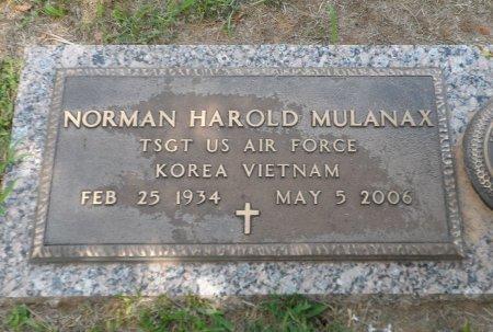 MULANAX (VETERAN 2WARS), NORMAN HAROLD - Parker County, Texas | NORMAN HAROLD MULANAX (VETERAN 2WARS) - Texas Gravestone Photos