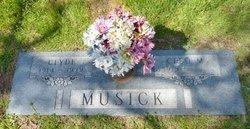 CONNER MUSICK, CLEO MAGDELINE - Parker County, Texas | CLEO MAGDELINE CONNER MUSICK - Texas Gravestone Photos