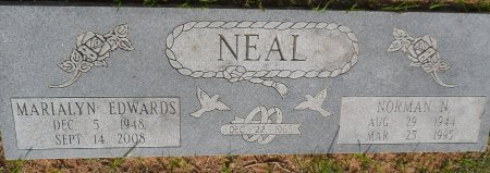 EDWARDS NEAL, MARIALYN J. - Parker County, Texas | MARIALYN J. EDWARDS NEAL - Texas Gravestone Photos