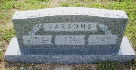 PARSONS, EUGENE VOLLNER - Parker County, Texas | EUGENE VOLLNER PARSONS - Texas Gravestone Photos