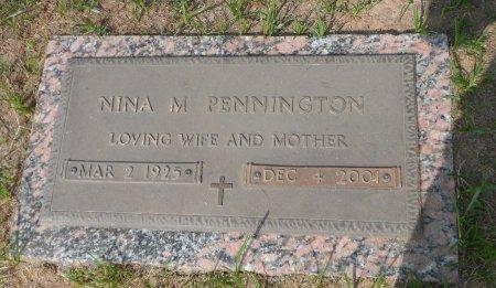 PENNINGTON, NINA MARIE - Parker County, Texas | NINA MARIE PENNINGTON - Texas Gravestone Photos
