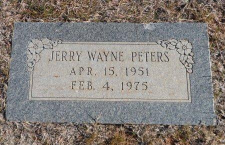 PETERS, JERRY WAYNE - Parker County, Texas | JERRY WAYNE PETERS - Texas Gravestone Photos