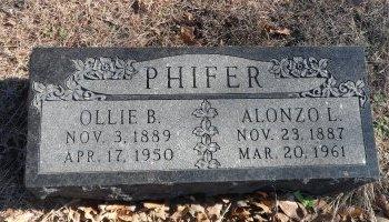 PHIFER, ALONZO L. - Parker County, Texas | ALONZO L. PHIFER - Texas Gravestone Photos