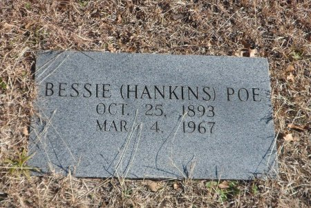 HANKINS POE, BESSIE MARY - Parker County, Texas | BESSIE MARY HANKINS POE - Texas Gravestone Photos