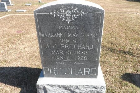 CLARKE PRITCHARD, MARGARET MAY - Parker County, Texas | MARGARET MAY CLARKE PRITCHARD - Texas Gravestone Photos