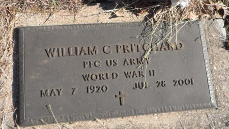 PRITCHARD (VETERAN WWII), WILLAIM CLAYTON - Parker County, Texas | WILLAIM CLAYTON PRITCHARD (VETERAN WWII) - Texas Gravestone Photos