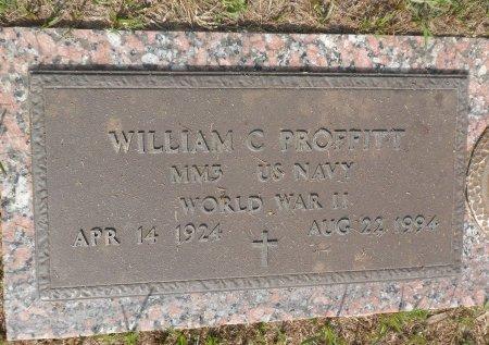 PROFFITT (VETERAN  WWII), WILLIAM C. - Parker County, Texas   WILLIAM C. PROFFITT (VETERAN  WWII) - Texas Gravestone Photos