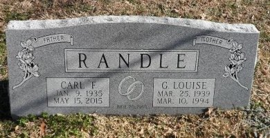 KNIGHT RANDLE, GLUNNA LOUISE - Parker County, Texas | GLUNNA LOUISE KNIGHT RANDLE - Texas Gravestone Photos