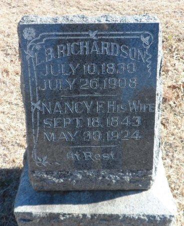 RICHARDSON, LANDON BRITT - Parker County, Texas   LANDON BRITT RICHARDSON - Texas Gravestone Photos