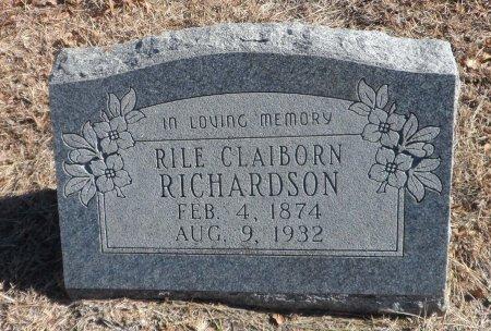 RICHARDSON, RILE CLAIBORN - Parker County, Texas | RILE CLAIBORN RICHARDSON - Texas Gravestone Photos