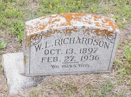 RICHARDSON, WILLIAM LAFATE - Parker County, Texas | WILLIAM LAFATE RICHARDSON - Texas Gravestone Photos