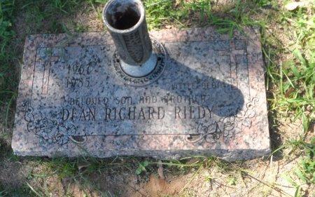 RIEDY, DEAN RICHARD - Parker County, Texas   DEAN RICHARD RIEDY - Texas Gravestone Photos