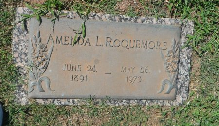 ROQUEMORE, AMENDA L. - Parker County, Texas | AMENDA L. ROQUEMORE - Texas Gravestone Photos