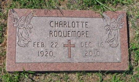 REGION ROQUEMORE, CHARLOTTE - Parker County, Texas | CHARLOTTE REGION ROQUEMORE - Texas Gravestone Photos