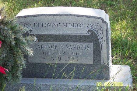 SANDERS, CLARENCE EDMOND - Parker County, Texas | CLARENCE EDMOND SANDERS - Texas Gravestone Photos