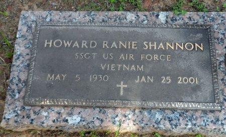 SHANNON (VETERAN  VIET), HOWARD RANIE - Parker County, Texas | HOWARD RANIE SHANNON (VETERAN  VIET) - Texas Gravestone Photos