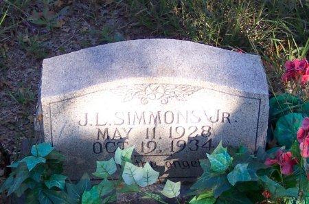 SIMMONS, JONATHAN LUCE - Parker County, Texas   JONATHAN LUCE SIMMONS - Texas Gravestone Photos