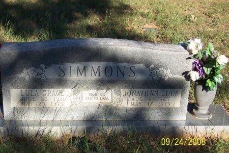 SIMMONS, JR., JONATHAN LUCE - Parker County, Texas | JONATHAN LUCE SIMMONS, JR. - Texas Gravestone Photos
