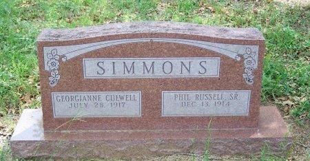 SIMMONS, GEORGIANNE - Parker County, Texas | GEORGIANNE SIMMONS - Texas Gravestone Photos