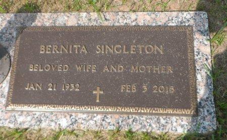 SINGLETON, BERNITA - Parker County, Texas   BERNITA SINGLETON - Texas Gravestone Photos