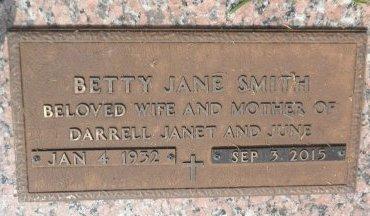 SMITH, BETTY - Parker County, Texas | BETTY SMITH - Texas Gravestone Photos