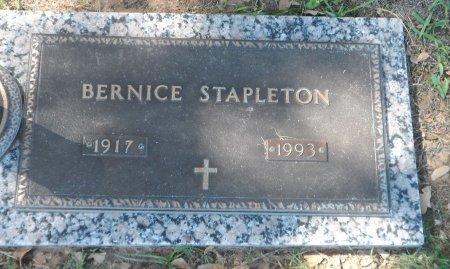 STAPLETON, BERNICE LOULA - Parker County, Texas | BERNICE LOULA STAPLETON - Texas Gravestone Photos