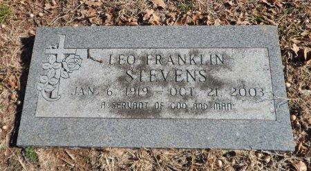 STEVENS, LEO FRANKLIN - Parker County, Texas   LEO FRANKLIN STEVENS - Texas Gravestone Photos