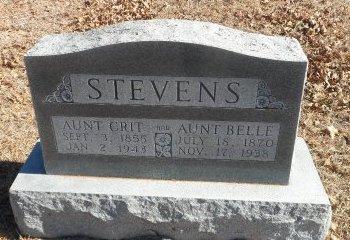 STEVENS, MARGARET CRITTELL - Parker County, Texas   MARGARET CRITTELL STEVENS - Texas Gravestone Photos