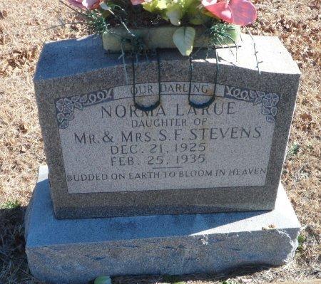 STEVENS, NORMA LARUE - Parker County, Texas | NORMA LARUE STEVENS - Texas Gravestone Photos