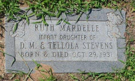 STEVENS, RUTH MARDELLE - Parker County, Texas   RUTH MARDELLE STEVENS - Texas Gravestone Photos