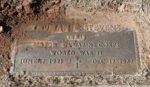 STEVENS (VETERAN WWII), TRUMAN DOUGLAS - Parker County, Texas | TRUMAN DOUGLAS STEVENS (VETERAN WWII) - Texas Gravestone Photos