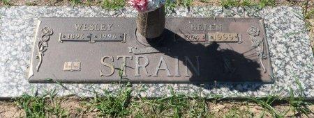 STRAIN, WESLEY - Parker County, Texas | WESLEY STRAIN - Texas Gravestone Photos