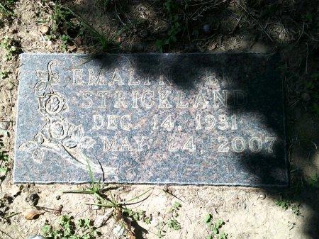 HILL STRICKLAND, EMALYN ELIZABETH - Parker County, Texas | EMALYN ELIZABETH HILL STRICKLAND - Texas Gravestone Photos
